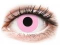Farebné kontaktné šošovky - ColourVUE Crazy Lens - Barbie Pink - nedioptrické