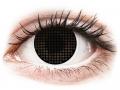 Farebné kontaktné šošovky - ColourVUE Crazy Lens - Black Screen - nedioptrické