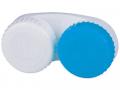 Puzdra a ostatné - Puzdro na šošovky modro-biele so znakmi L+R