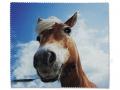 Puzdra a ostatné - Čistiaca handrička na okuliare - kôň