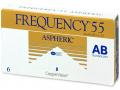 Mesačné kontaktné šošovky - Frequency 55 Aspheric